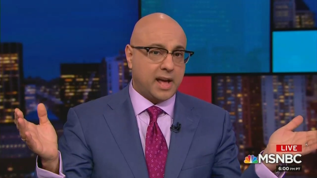 MSNBC's Velshi Disgusted by Trump Saying Queen Enjoyed His Company
