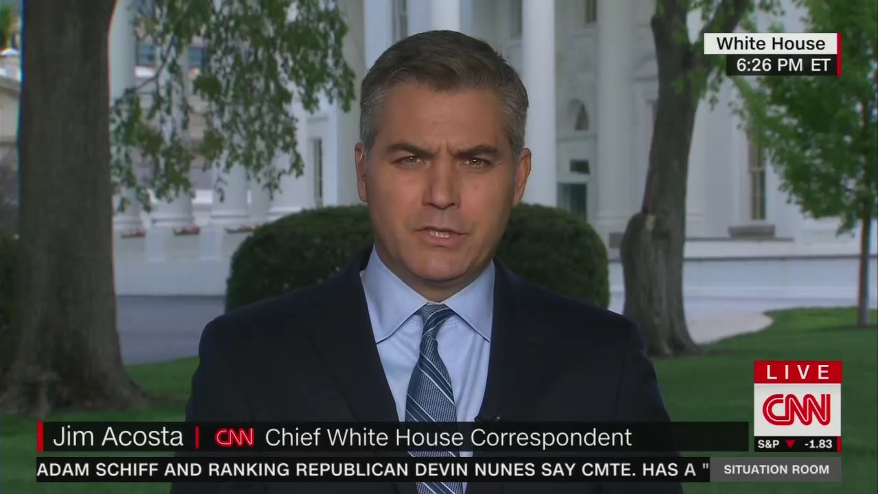 Seriously? CNN's Acosta to Receive 'Truth to Power' Award for His Anti-Trump Antics