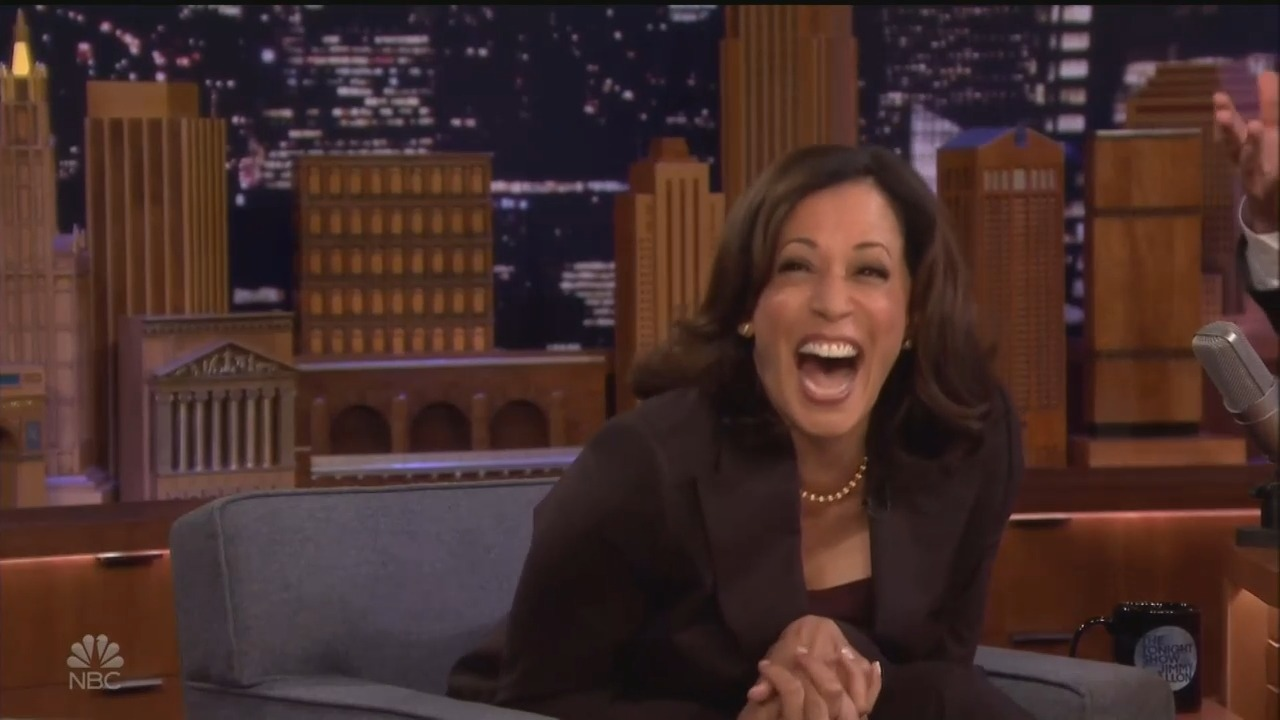 NBC's Jimmy Fallon Dedicates Show to Promoting Harris' Campaign
