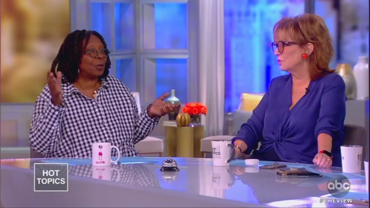 Whoopi: Dems Rebuking Trump's 'Tyranny' Just Like Boston Tea Party