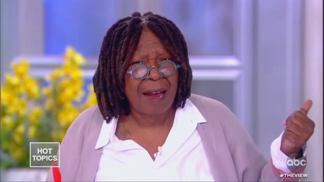 """Whoopi on Trump's Bahamas Comments: """"How Do You Not... Say This Is Racial?'"""