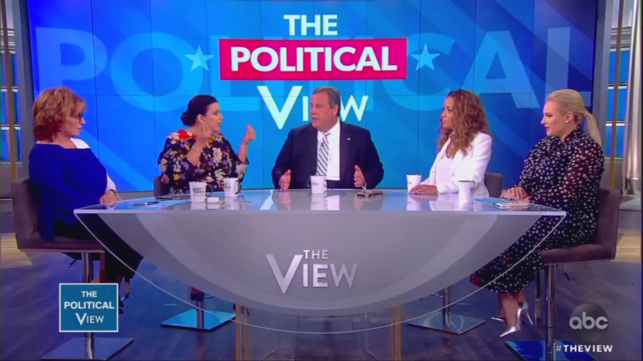 Unhinged 'View' Hosts Attack Christie: 'How the Hell Could You Have Ever Supported [Trump]?'