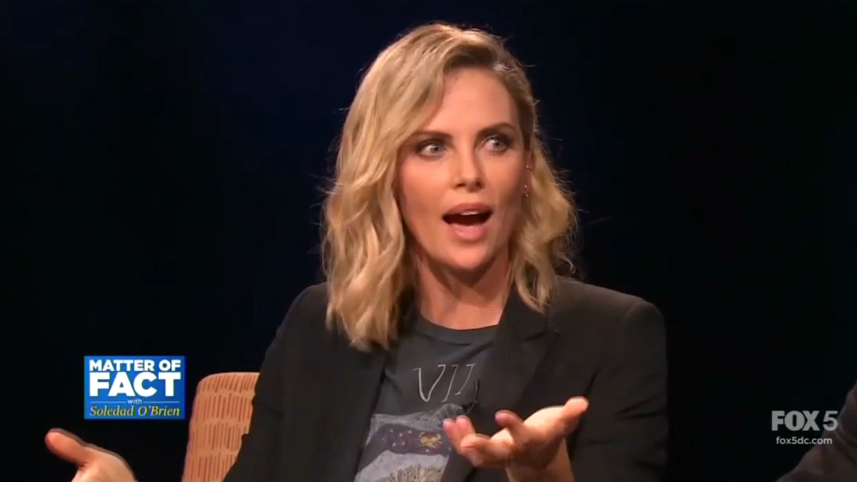 Actress Charlize Theron: 'I Am a F***ing Feminist'