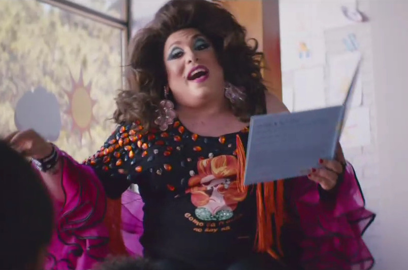 Kaiser Permanente Ad Promotes Drag Queen Story Hour