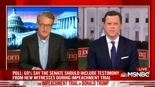 Scarborough Hypes 'Devastating' CNN Impeachment Poll