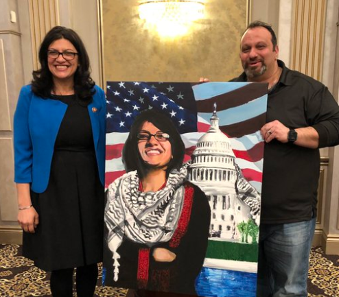 Nets Silent as Rising Star Democrat Meets With Pro-Hezbollah Activist Who Hates Israel