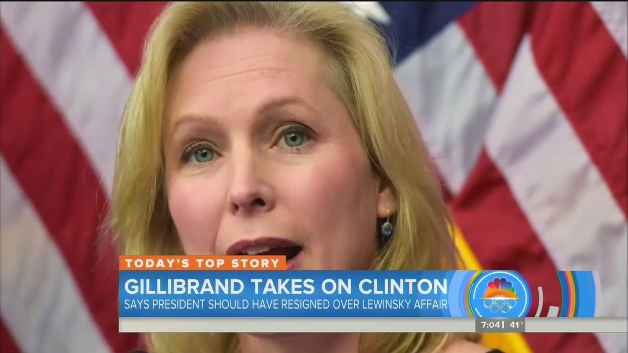 ABC Ignores Sen. Gillibrand Admitting President Clinton Shouldve Resigned Over Lewinsky