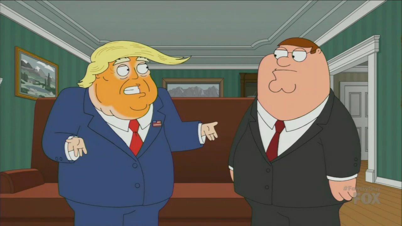 Family Guy Trump