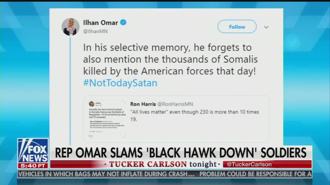 Newsweek Defends Ilhan Omar Attacking U.S. Troops as Killers, Blames Trump Jr. Instead