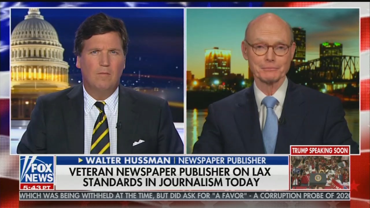 Tucker SLAMS the Lack of Journalistic Integrity In Media