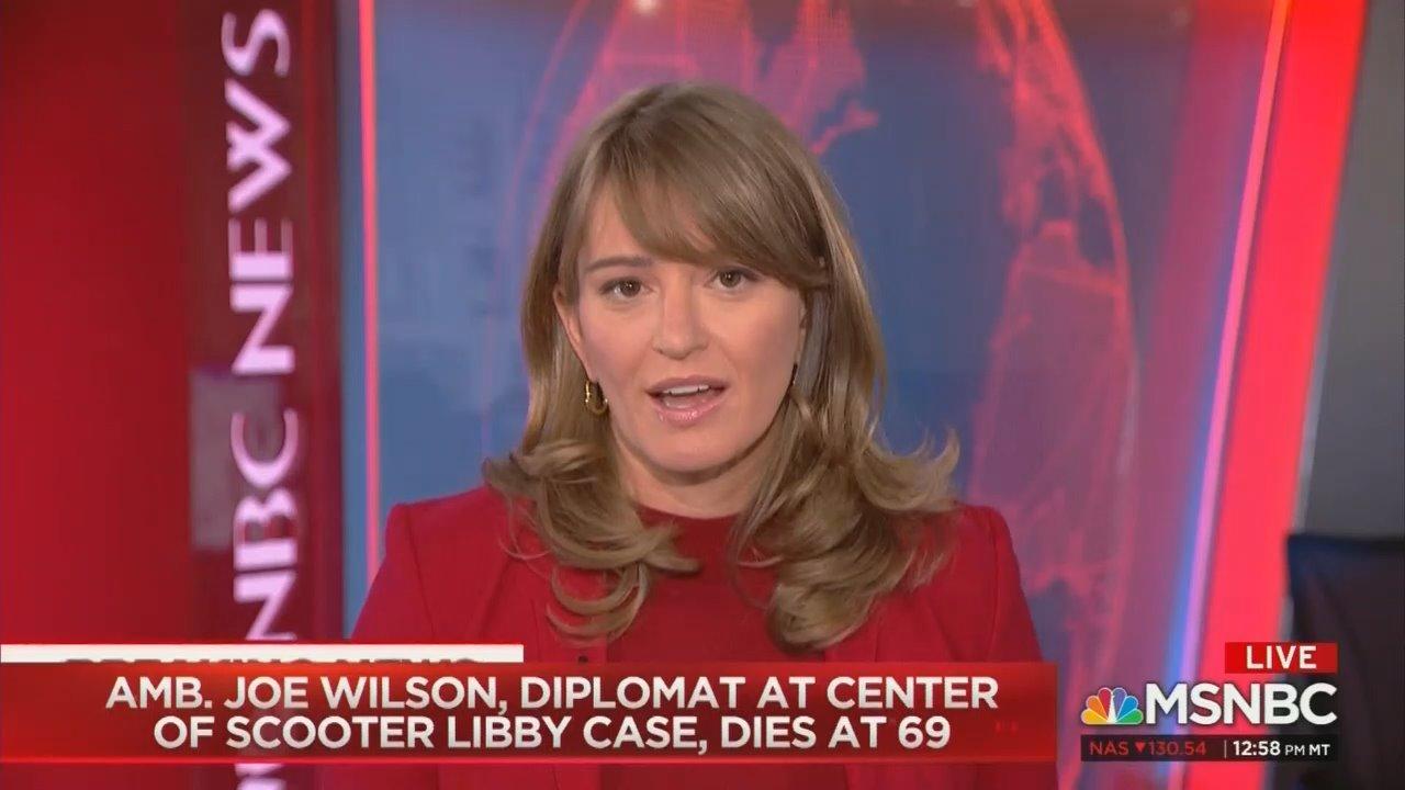 MSNBC Pushes Myth Bush Admin Outed CIA Agent As 'Retaliation'
