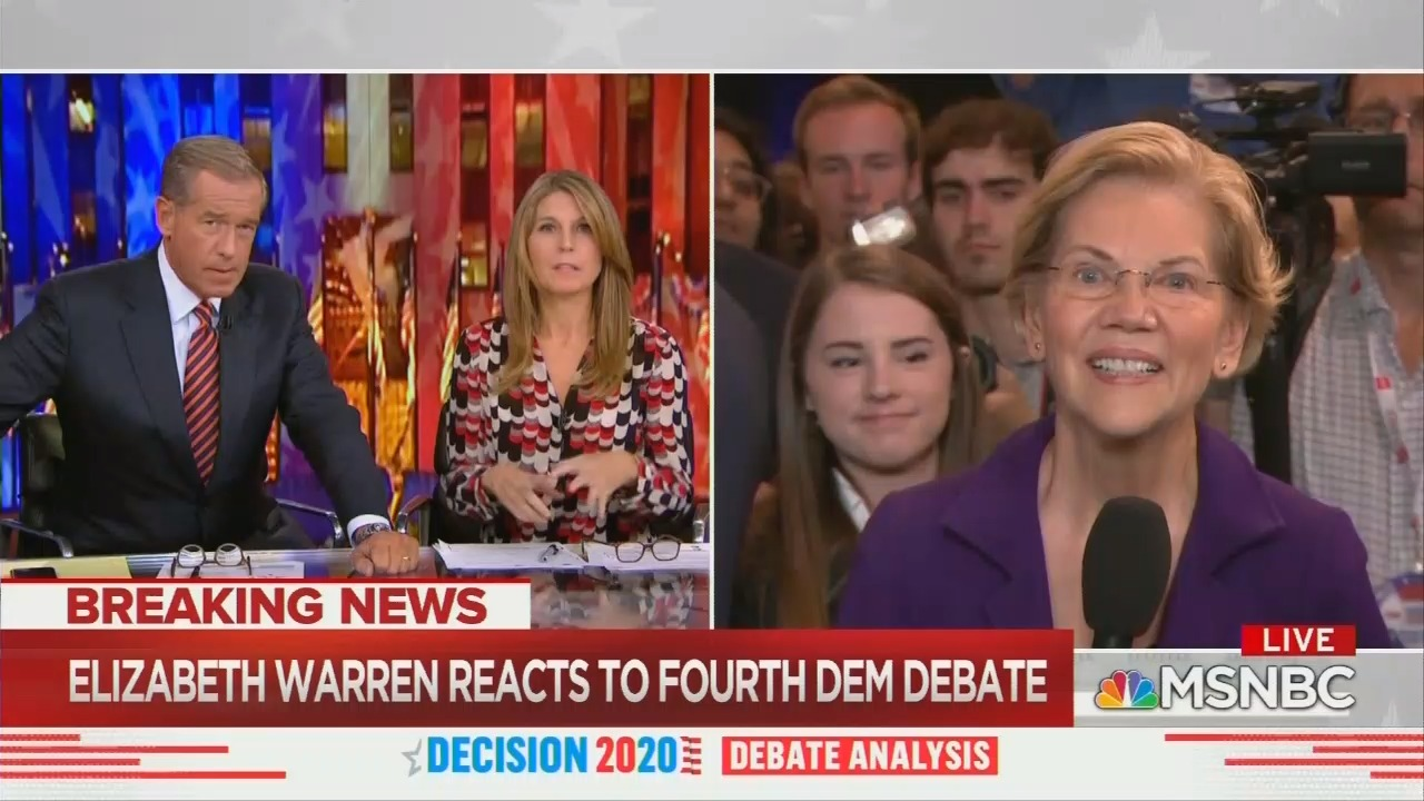 MSNBC: Will 'Deep' Warren Struggle Against Trump's 'Poo Poo' Attacks?