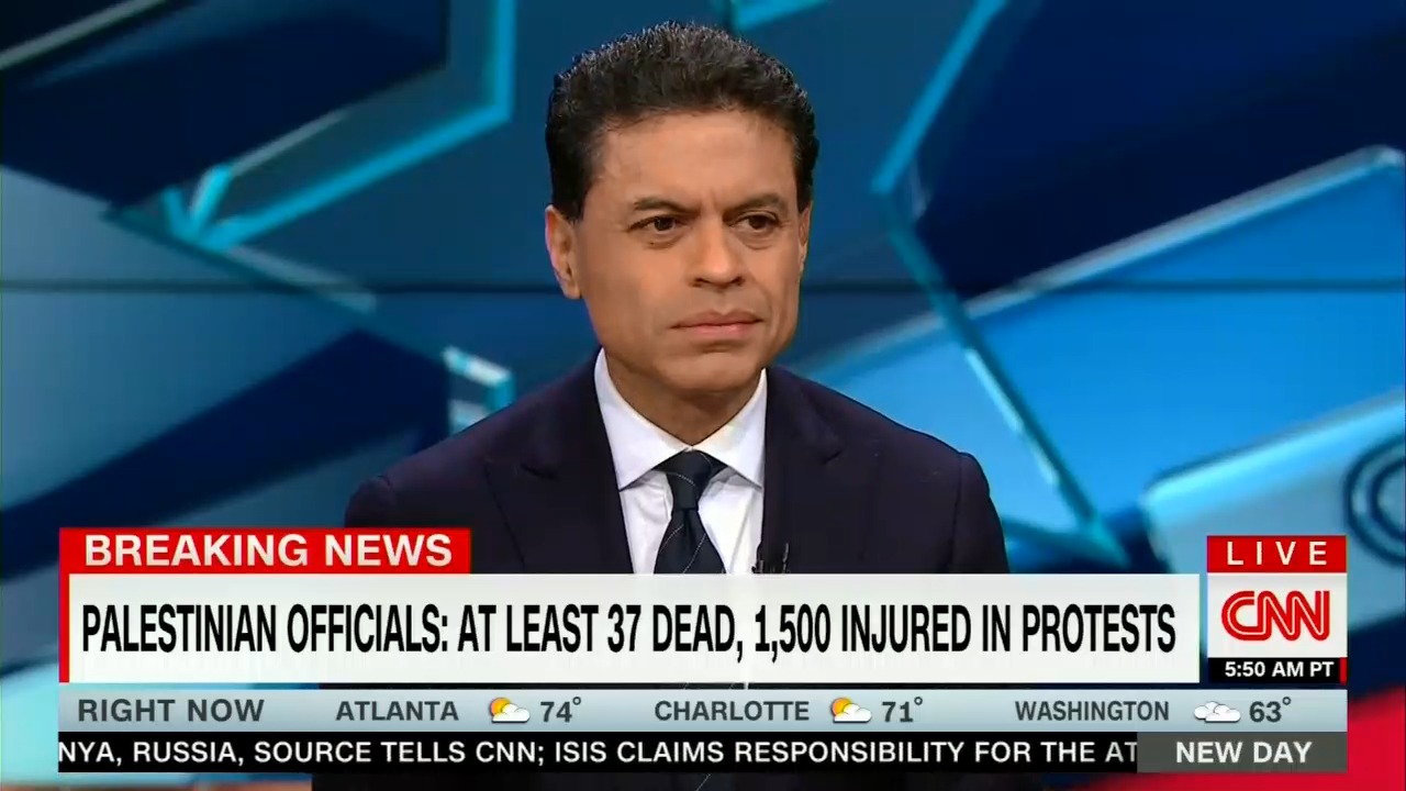 CNN's Zakaria Frets Over Trump Not Demanding Concessions from Israel