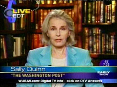 Still Shot of Sally Quinn, March 26