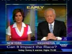 Still Shot of Maggie Rodriguez and Bob Schieffer, May 29
