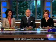 Still Shot of Julie Chen, Harry Smith, and Maggie Rodriguez, June 6
