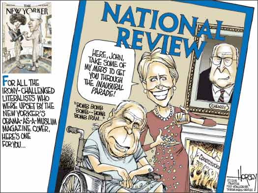 David Horsey, Seattle Post-Intelligencer | NewsBusters.org