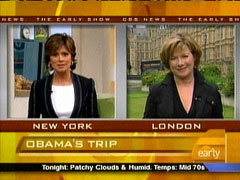 Maggie Rodriguez and Shelia Macvicar, CBS