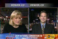 Gov. Tim Pawlenty (R-Minn) with Diane Sawyer on 8/28/2008 GMA | NewsBusters.org