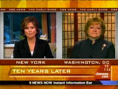 Maggie Rodriguez and Judy Shepard, CBS