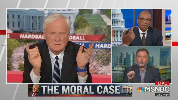 Matthews, Guest: Trump, Base Are 'Existential Crisis,' 'White Identity Cult' Who Hate America