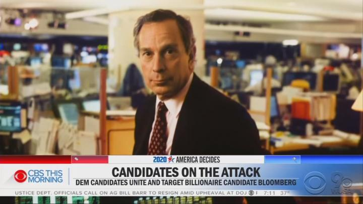 As Allegations of Gross Sexual Comments Swirl Around Bloomberg, CBS Skimps