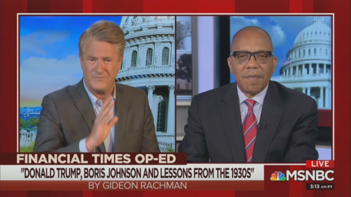 MSNBC: 'Sound the Alarm' to Trump and Rise of Nazi Threat in 2020
