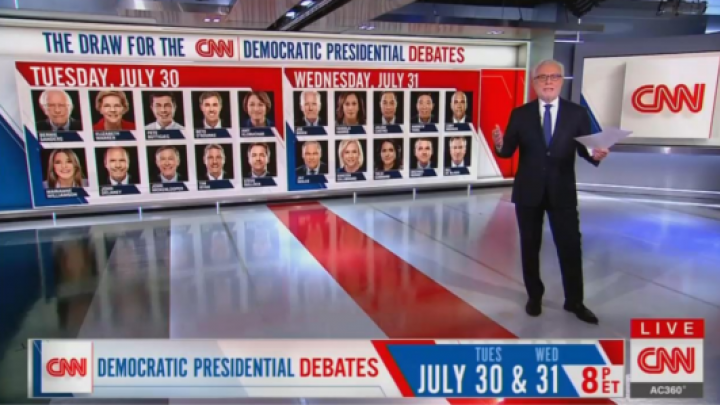NY Times Critic: CNN Turned Democrats' Debate Selection Into Game Show