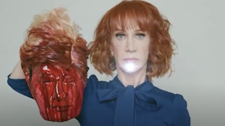 F**K TRUMP: Kathy Griffin Suggests Stabbing Trump With Syringe 'With Nothing But Air Inside It'
