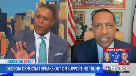 MSNBC Fight: Melvin Asks Democrat Trump Supporter 'Are You a Paid Campaign Surrogate?'