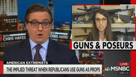 MSNBC Compares GOP Congresswoman to Osama Because She Posed With Guns, Fox News Work offer you 24/7 Headline News