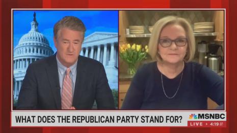 Joe Scarborough Claire McCaskill MSNBC Morning Joe 4-8-21