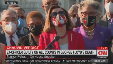 Nancy Pelosi CNN New Day 4-21-21