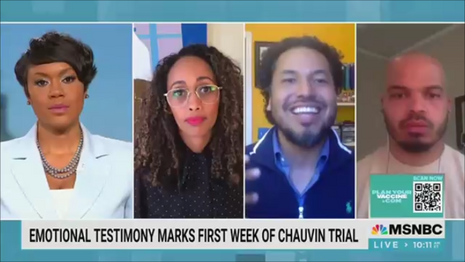 Tiffany Cross Gyasi Ross MSNBC The Cross Connection 4-3-21