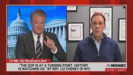 Joe Scarborough Jim VaneHei MSNBC Morning Joe 5-6-21