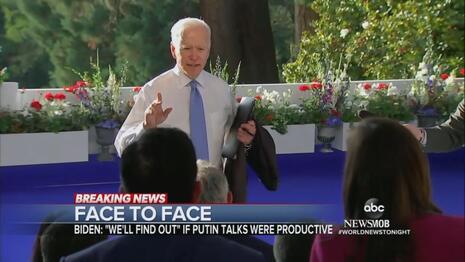CBS Boasts 'Legacy-Defining' Summit, ABC Lauded Biden Snapping at CNN