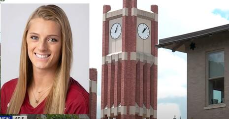 Kylee McLaughlin (with Oklahoma University campus images)