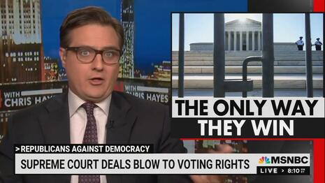 UNHINGED Hayes Claims SCOTUS Election Ruling Part of a GOP Conspiracy
