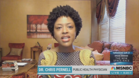 Dr. Chris Pernell MSNBC The Cross Connection 7-10-21