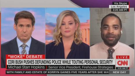 John Berman Brianna Keilar Michael Starr Hopkins CNN New Day 8-6-21