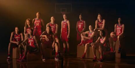 USA women's Olympic basketball team