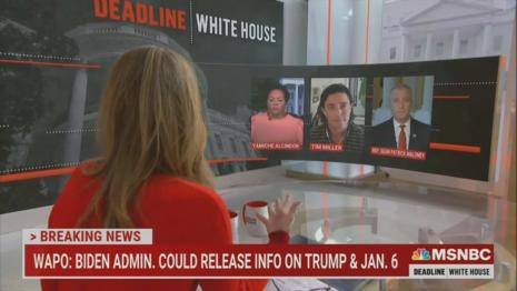 Nicolle Wallace Yamiche Alcindor MSNBC Deadline White House 9-23-21