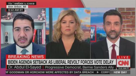 Abdul El-Sayed Brianna Keilar CNN New Day 10-1-21
