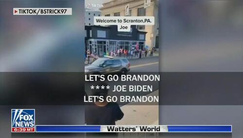 After Pushing Anti-Trump Vulgarity, WashPost Decries Let's Go Brandon