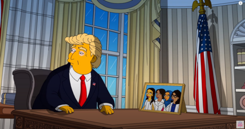 SAD: Once-Proud Simpsons Goes Full Democrat With Fake, Anti-Trump Avalanche