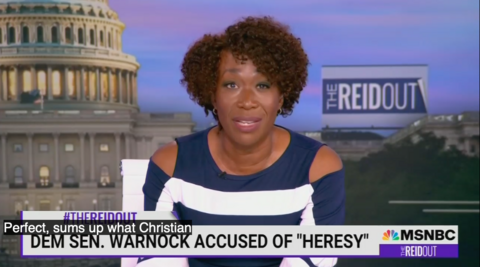 MSNBC Hate Sermon: ReidOut Rages Against 'Racist' 'Selfish' Christian Right
