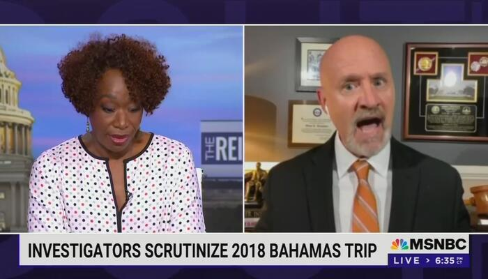 Get Your Tinfoil Hats! Joy Reid, Guest Insinuate DeSantis Will Be Swept Up in Sex Scandal