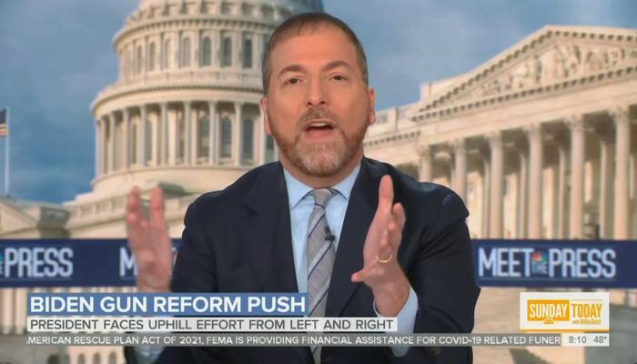Chuck Todd: Wanting to Stop Shootings a 'Problem on the Republican Side of the Aisle'
