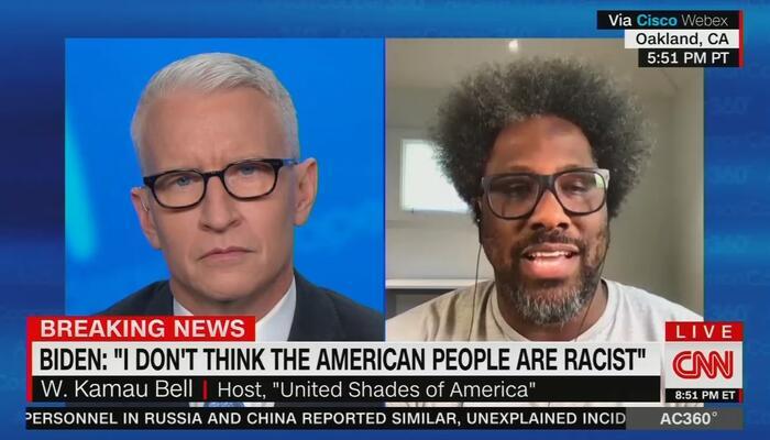 CNN's Kamau Bell: U.S. 'Was Built on Racism,' 'Is Run by Racism'