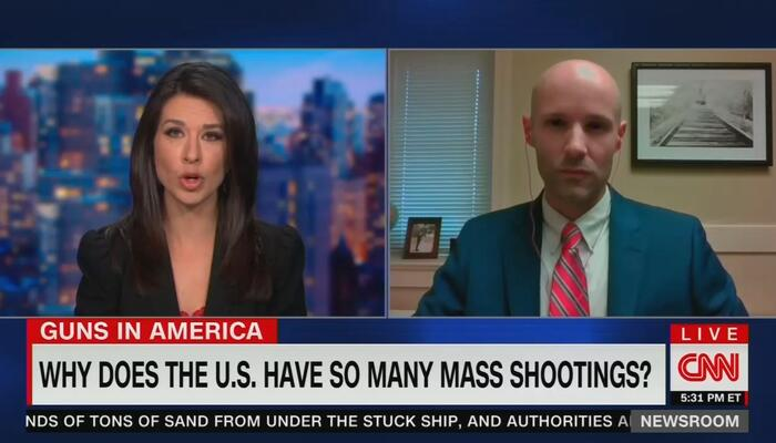 CNN Pushes Disputed Claim U.S. Leads World in Mass Shootings